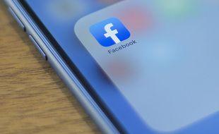 L'appli Facebook, image d'illustration.