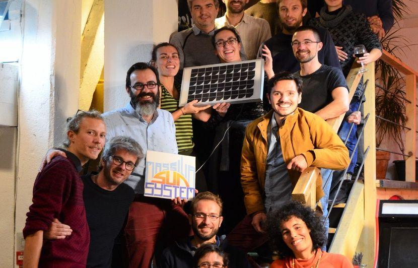 Marseille : Un collectif citoyen se lance avec trois projets de production photovoltaïque sur les toits