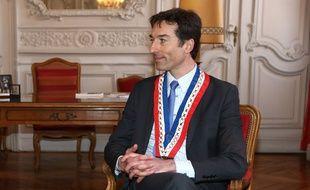 Le maire (PS) de Douai, Frédéric Chéreau.