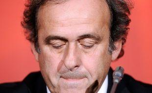 Michel Platini a écopé de huit ans de suspension.