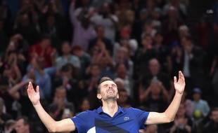 Julien Benneteau a retourné Bercy en quart de finale du Masters 1000.