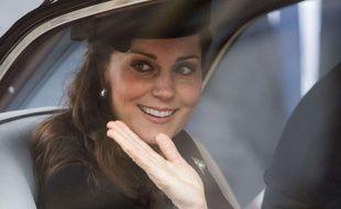 Kate Middleton, le 1er avril 2018 à St George's Chapel.
