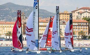 L'arrivée de l'épreuve se fait à Nice