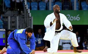 Teddy Riner lors des JO de Rio 2016