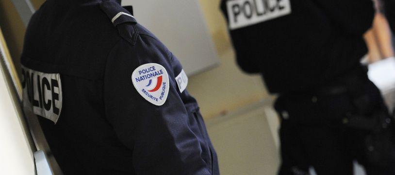 Des fonctionnaires de la Police nationale. Illustration.