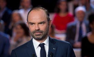 Le Premier ministre Edouard Philippe sur le plateau de