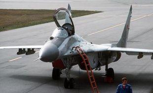Illustration d'un MiG 29.