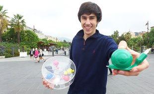 Maximilien Fourquet a créé quatre prototypes avant d'aboutir au chargeur Snail.