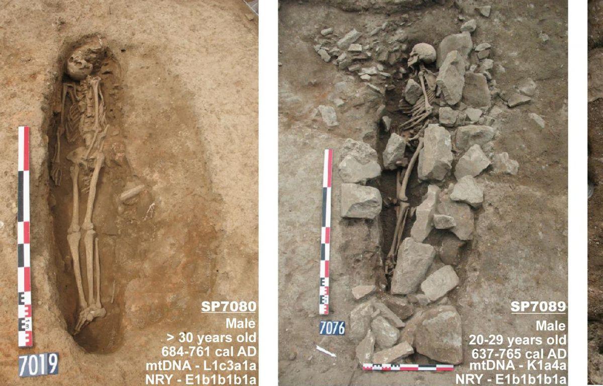 Les trois squelettes étaient tournés vers La Mecque –  Patrice Pliskine, Inrap
