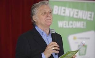 Gilbert Rozon au festival «Juste pour rire», en 2013, à Montréal.