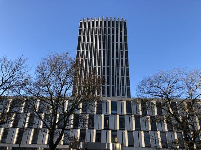 Le tribunal de grande instance de Lille a été contruit en 1963 dans le quartier du Vieux-Lille