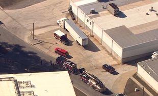 Une fuite d'azote liquide a fait au moins cinq morts dans l'usine de volailles Prime Pak Foods à Gainesville, en Géorgie, le 28 janvier 2021.