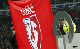 Le club de football de Lille (illustration).