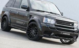 Le nouveau Range Rover Sport Hamann Conqueror II exposé au Salon de Genève 2010