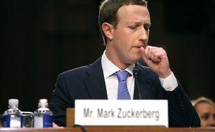 Mark Zuckerberg, patron de Facebook, le 10 avril 2018 à Washington.