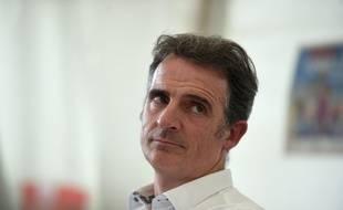Eric Piolle, ici lors de la dernière édition de la Fête de l'Humanité, le 11 septembre à La Courneuve. Lucas BARIOULET