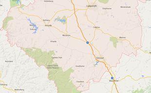la municipalité d'Uthukela, en Afrique du Sud.