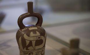 Une céramique de la culture Mochica.