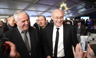 Bernard Laporte au moment de l'élection de président de la FFR