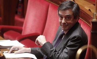 François Fillon à l'Assemblée nationale le 30 janvier 2013.