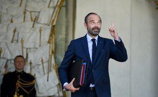 Mais quand l'Elysée va-t-il remanier le gouvernement ?Edouard Philippe sur le perron du Château, le 10 octobre 2018.