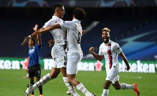 Marquinhos a égalisé à la 90e minute face à l'Atalanta Bergame.