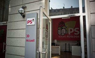 Le siège du Parti socialiste rue de Solférino à Paris, le 27 août 2017