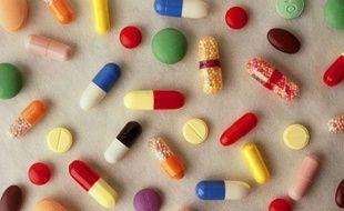 Un assortiment de médicaments
