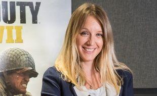 La comédienne Ludivine Sagnier prête sa voix au personnage de Rousseau dans le nouveau jeu Call of Duty WWII.