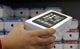 Illustration d'un iPhone 5S