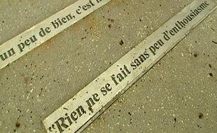 Sur cette citation de Voltaire, c'est la syntaxe qui n'a pas été respectée. Il faut lire :