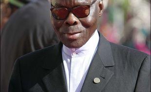 L'ex-président béninois Mathieu Kérékou, le 3 décembre 2005, à Bamako, au Mali.