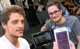 Adrien Préau et Stéphane Bautista portent le projet Watch It Buy It.