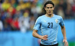 Edinson Cavani lors d'Angleterre-Uruguay le 19 juin 2014.