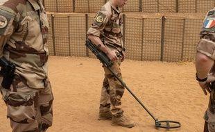 Des militaires français dans le nord du Mali, le 26 avril 2019.