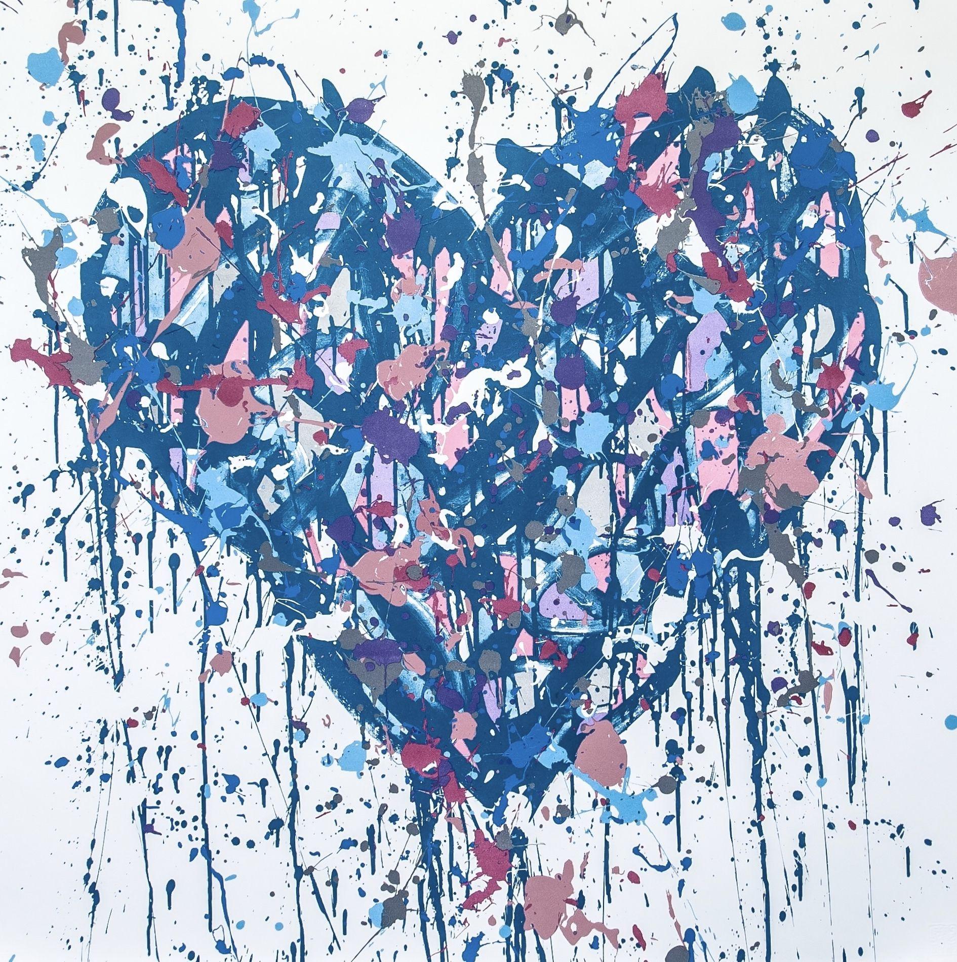 L'oeuvre Royal Heart de JonOne parrain de cette édition 2021