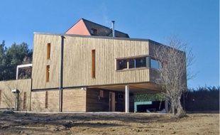 Une maison individuelle écologique construite à Fuveau.