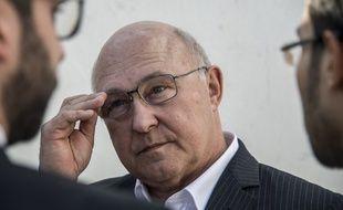 Le ministre de l'Economie et des Finances Michel Sapin