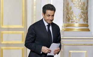 Le président français Nicolas Sarkozy a salué dans la nuit de jeudi à vendredi la décision de la justice fédérale américaine de fermer le site Megaupload.com, une des plus importantes plateformes de partage de fichiers sur internet.