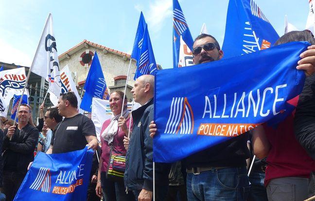 Les policiers niçois soutiennent leurs collègues du reste de la France.