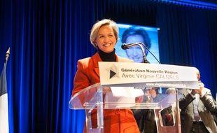 Virginie Calmels, tête de liste LR en Aquitaine-Limousin-Poitou-Charentes