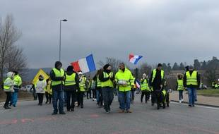 Des «gilets jaunes» (illustration).