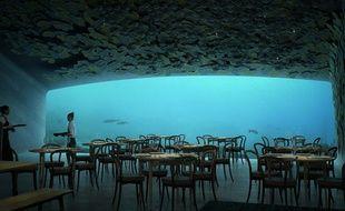 Ce restaurant dans le sud de la Norvège permettra de dîner sous la mer du Nord.