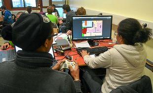 Les participants avaient carte blanche pour créer leur jeu vidéo.