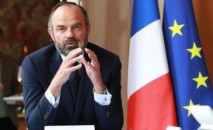 Le Premier ministre Edouard Philippe va présenter le plan de déconfinement du 11 mai entouré de six ministres, le 7 mai à 16h depuis l'hôtel Matignon. (Illustration)