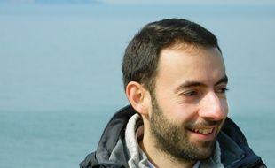 Guillaume Roudier, 31 ans, en 6eme année de séminaire.