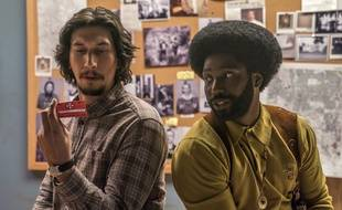 Adam Driver et John David Washington dans Blackkklansman de Spike Lee