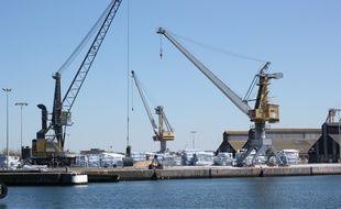 L'usine Timac Agro du groupe Roullier, ici sur le port de Saint-Malo.