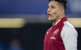 Alexis Sanchez, le joueur d'Arsenal, est très convoité lors de ce mercato d'hiver.