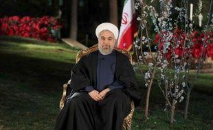 Le président de l'Iran, Hassan Rohani, à Téhéran le 20 mars 2017